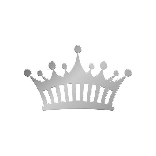 銀色の王冠イラスト素材