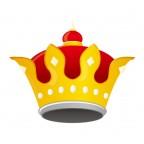 宝石が散りばめられた王冠・クラウンイラスト