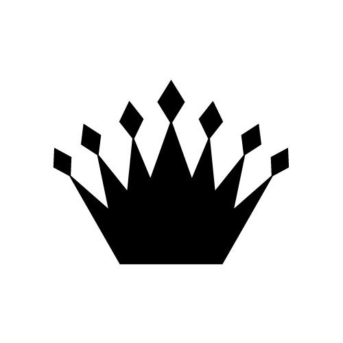刺々しい王冠・クラウンのイラスト