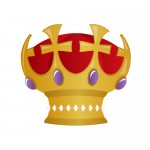 クロス・十字架のモチーフを使った王冠・クラウン